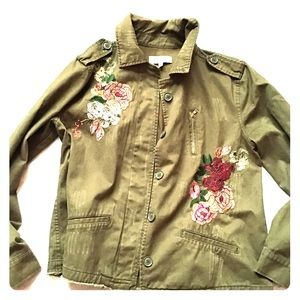Charlotte Russe army jacket